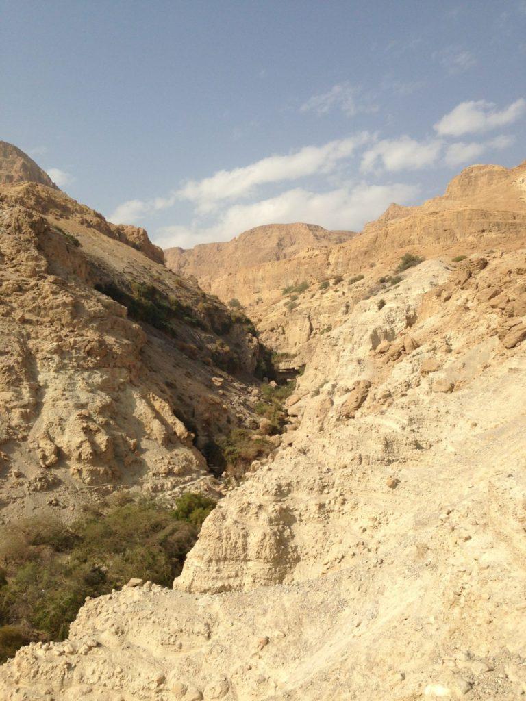 イスラエルの枯れ川