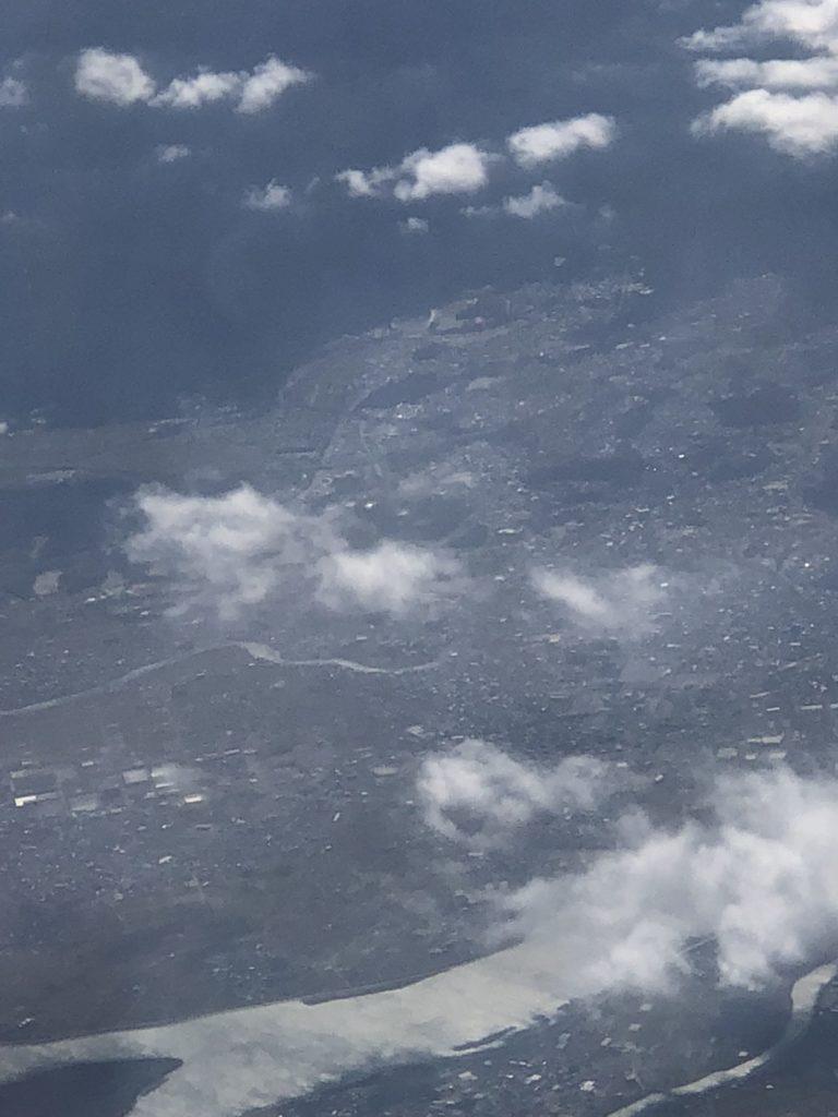伊勢神宮遠景